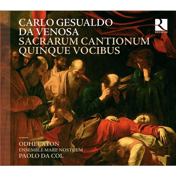 Liuwe Tamminga - Gesualdo da Venosa : Sacrarum cantionum quinque vocibus