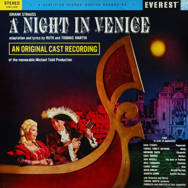 Thomas Martin - Strauss: A Night in Venice (Transferred from the Original Everest Records Master Tapes)