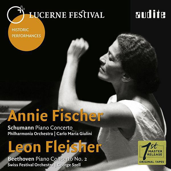 Annie Fischer - Schumann & Beethoven: Piano Concertos