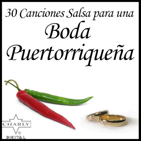 Various Artists - 30 Canciones Salsa para una Boda Puertorriqueña