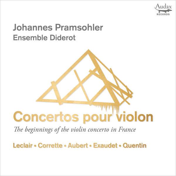 Johannes Pramsohler Concertos pour violon