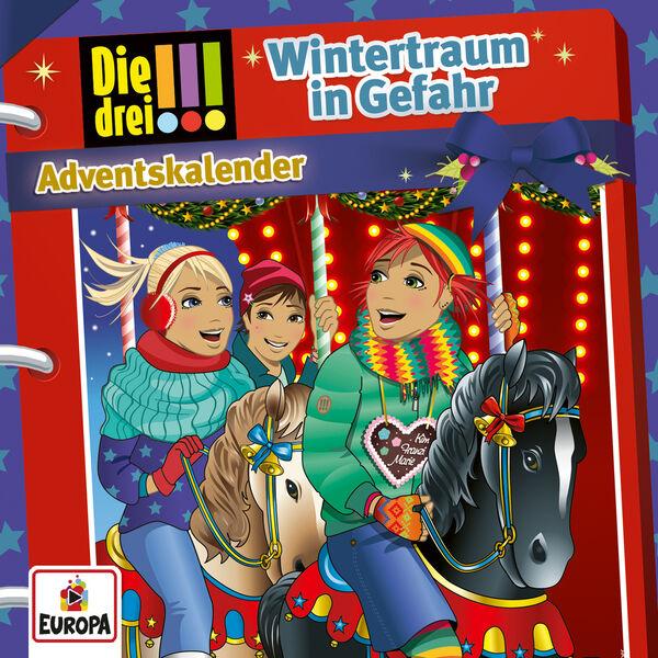 Die drei !!! - Adventskalender - Wintertraum in Gefahr
