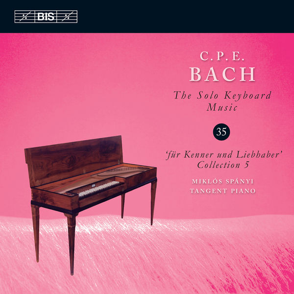 Miklos Spanyi - C.P.E. Bach: The Solo Keyboard Music, Vol. 35