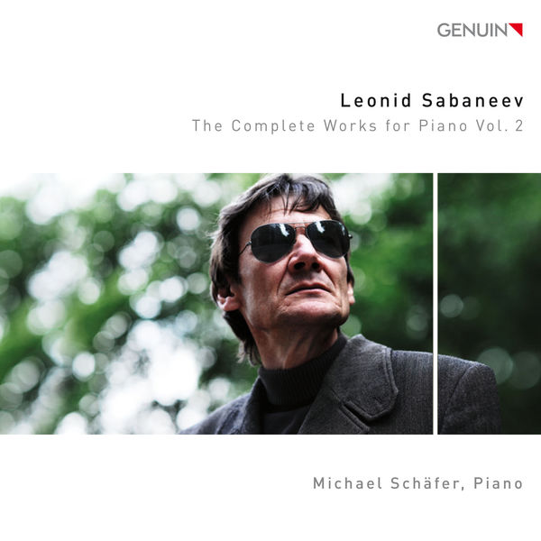 Michael Schafer - Sabaneyev: The Complete Works for Piano, Vol. 2