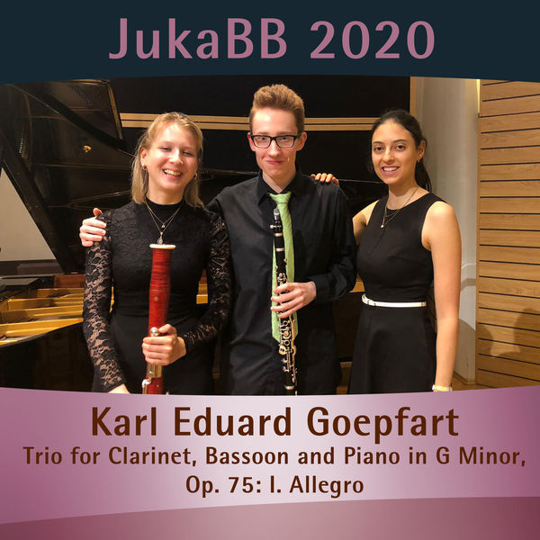 Karl Eduard Goepfart - Trio for Clarinet, Bassoon and Piano in G Minor, Op. 75: I. Allegro