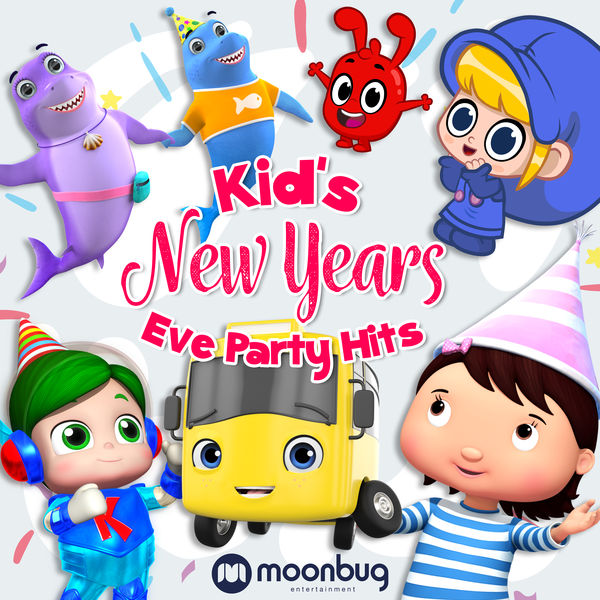 Various Artists - Kid's New Years Eve Party Hits - Moonbug Kids