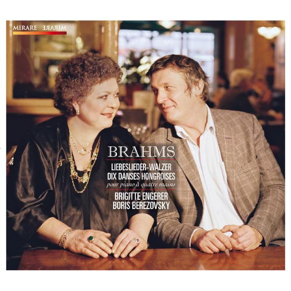 Brigitte Engerer - Brahms: Liebeslieder, Walzer & Dix Danses Hongroises pour piano à quatre mains