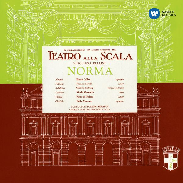 Maria Callas - Vincenzo Bellini : Norma (1960) - Callas Remastered