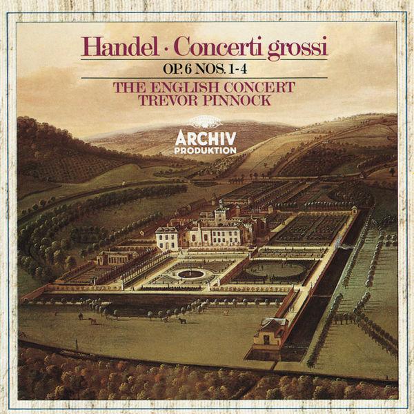 Simon Standage - Handel: Concerti grossi Op. 6, Nos.1-4