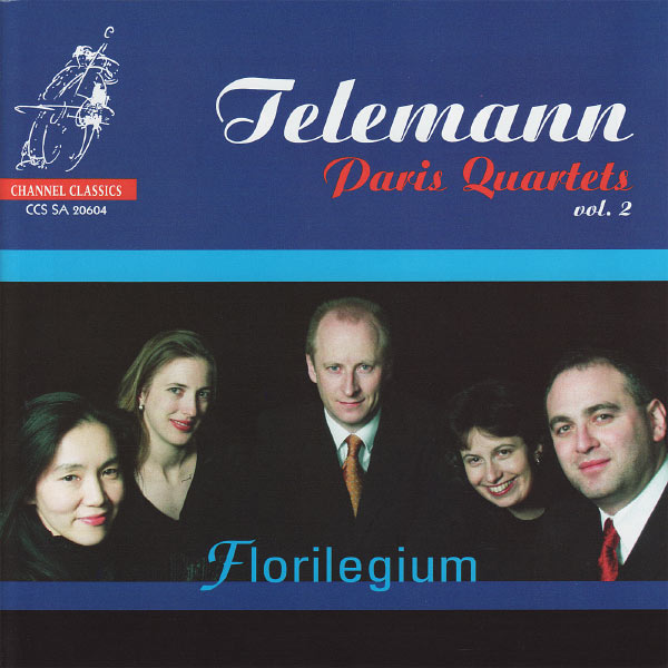 Florilegium - Telemann: Paris Quartets, Vol. 2