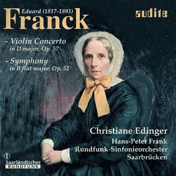 Hans-Peter Frank - Franck: Violin Concerto / Symphony
