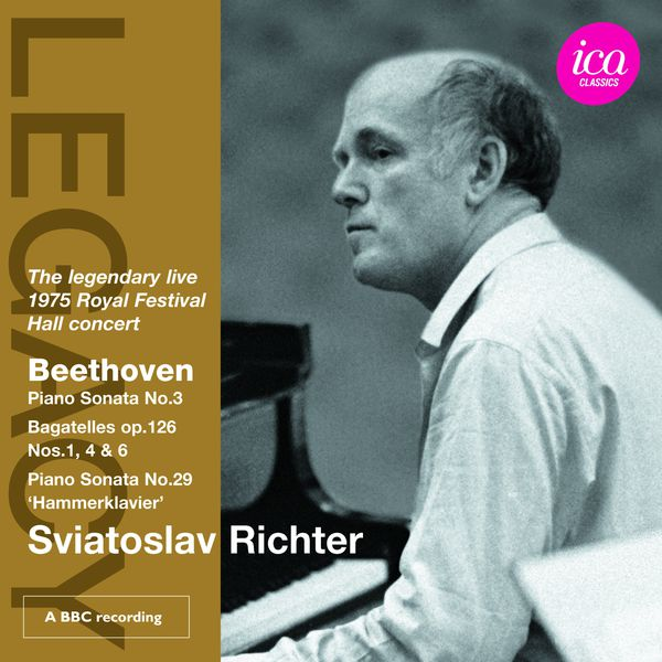 Sviatoslav Richter - Legendary live 1975 Royal Festival Hall concert (Beethoven)