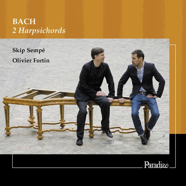 Skip Sempé - Bach : 2 Harpsichords