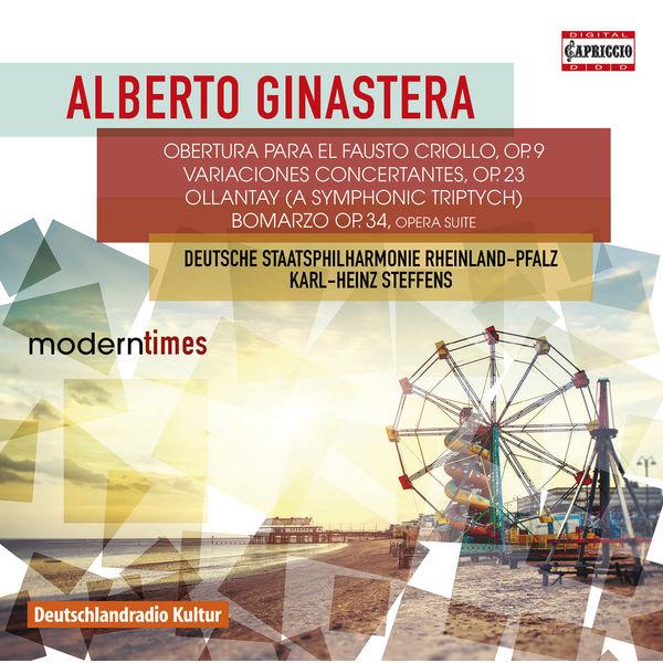 Staatsphilharmonie Rheinland-Pfalz - Alberto Ginastera : Obertura para el Fausto Criollo...