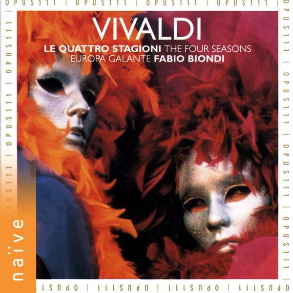 Europa Galante - Vivaldi : Les Quatre Saisons, Op. 8 Nos. 1 à 4