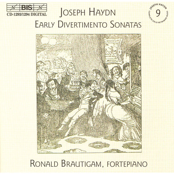 Ronald Brautigam - HAYDN: Early Divertimento Sonatas for Keyboard, Nos. 1-20