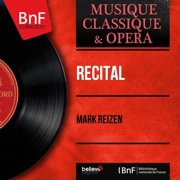 Mark Reizen - Récital (Mono Version)