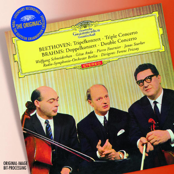Ferenc Fricsay - Beethoven : Triple Concerto - Brahms : Double Concerto