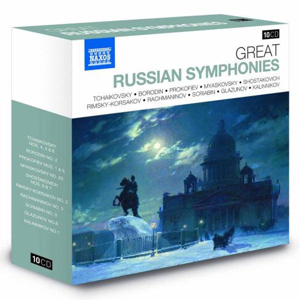 Adrian Leaper - Great Russian Symphonies