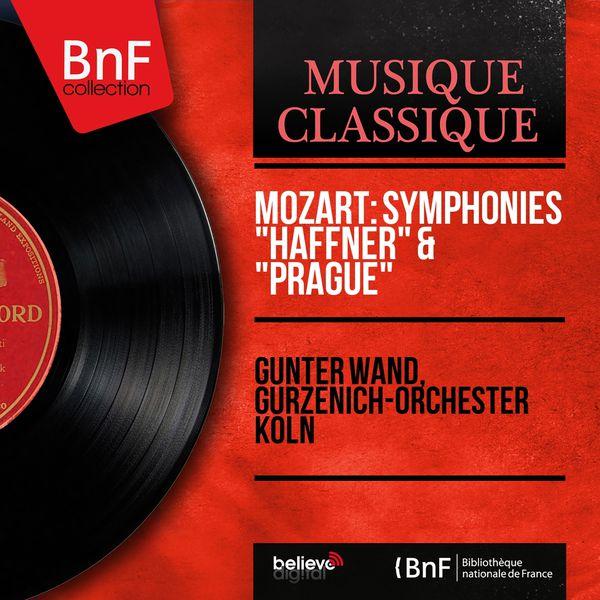 "Günter Wand - Mozart: Symphonies ""Haffner"" & ""Prague"" (Mono Version)"