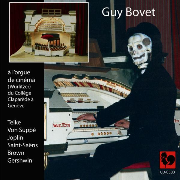 Carl Teike Guy Bovet à l'orgue de cinéma (Wurlitzer) du collège Claparède à Genève