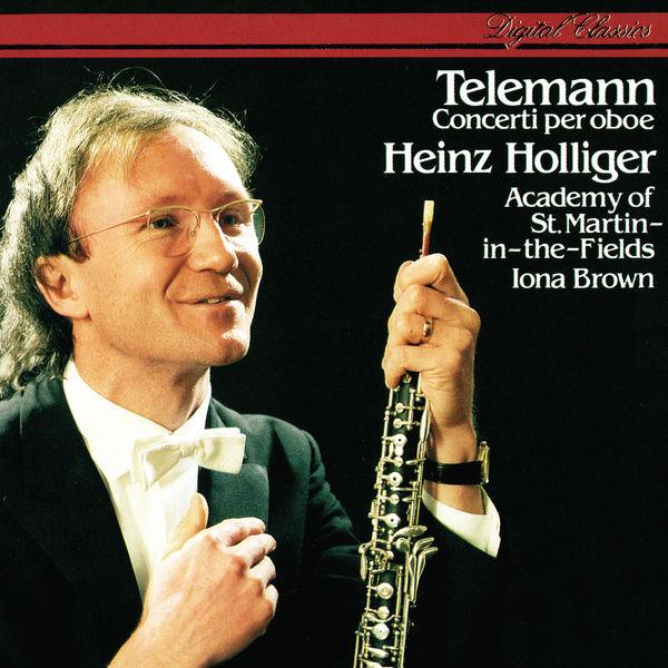 Heinz Holliger - Telemann: Oboe Concertos