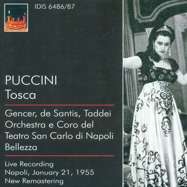 Leyla Gencer - Puccini, G.: Tosca [Opera] (1955)