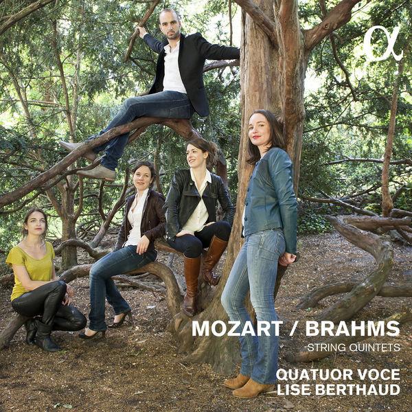 Quatuor Voce - Mozart & Brahms: String Quintets