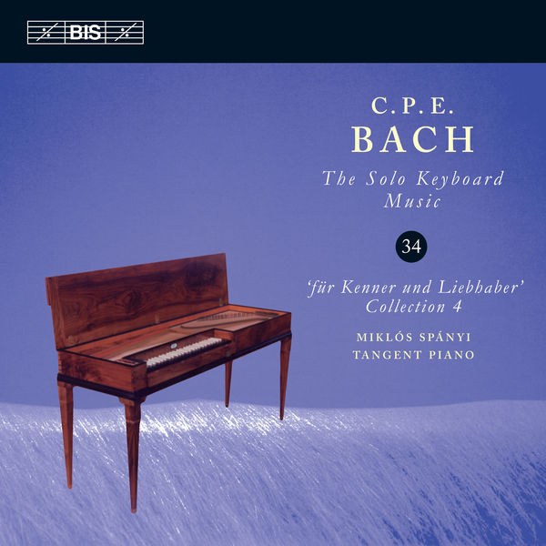 Miklós Spányi - C.P.E. Bach: The Solo Keyboard Music, Vol. 34