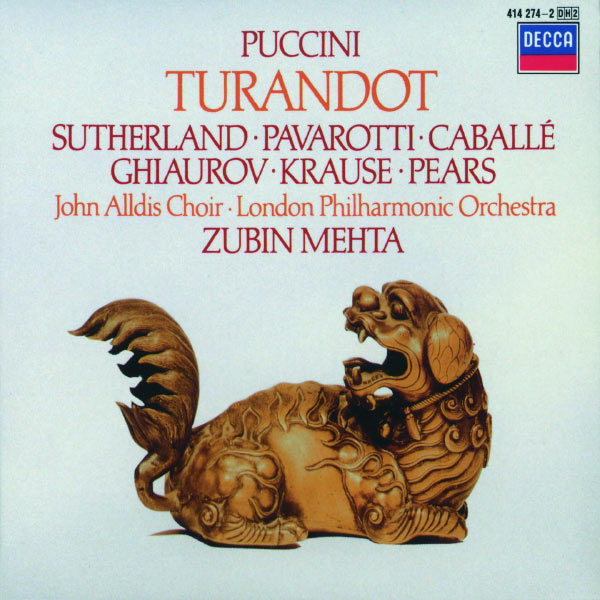 Zubin Mehta - Puccini: Turandot