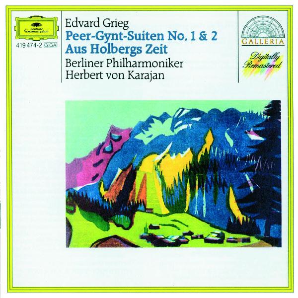 Berliner Philharmoniker - Grieg: Peer Gynt Suites Nos.1 & 2; From Holberg's Time; Sigurd Jorsalfar