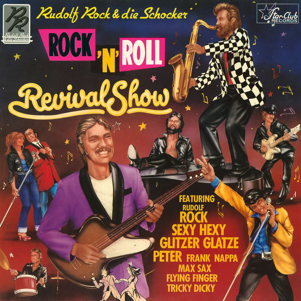 Rudolf Rock & Die Schocker - Rock 'N' Roll Revival Show