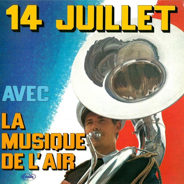 Musique de l'Air de Paris - 14 Juillet avec la Musique de l'Air