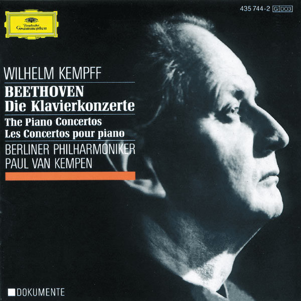 Wilhelm Kempff - Ludwig van Beethoven : Concertos for Piano and Orchestra