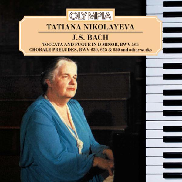 Johann Sebastian Bach - Tatiana Nikolayeva plays Bach
