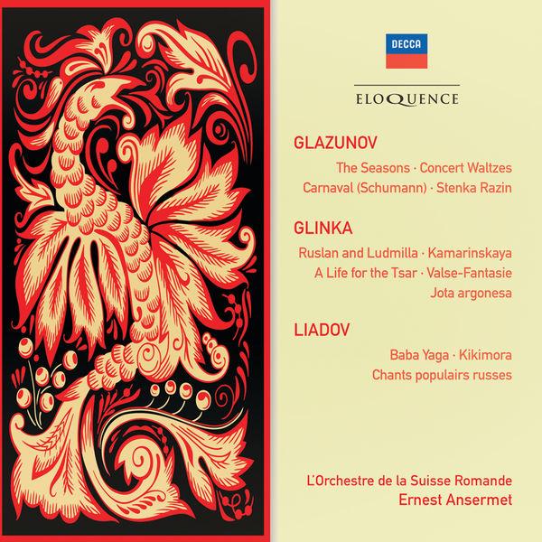 Orchestre De La Suisse Romande - Glazunov, Glinka, Liadov