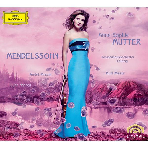 Anne-Sophie Mutter - Felix Mendelssohn : Violin Concerto Op.64 - Piano Trio Op.49 - Violin Sonata in F major (1838)