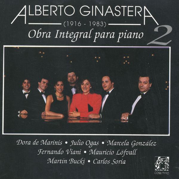 Alberto Ginastera - Alberto Ginastera:Obra Integral Para Piano Vol.2