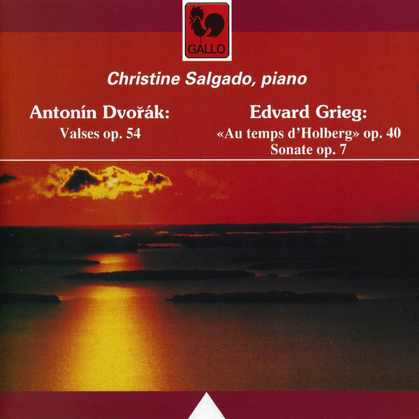 Antonín Dvořák - Dvorák: Waltzes, Op. 54, Grieg: Holberg Suite, Op. 40 & Piano Sonata, Op. 7