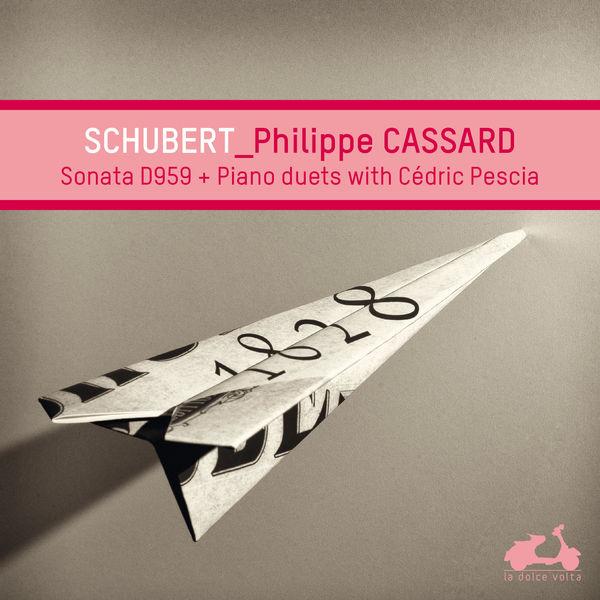 Philippe Cassard - Franz Schubert : Piano Sonata n°20 & Piano duets
