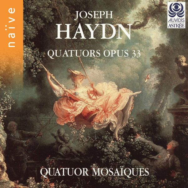 Quatuor Mosaïques, Erich Höbarth, Andrea Bischof, Anita Mitterer, Christophe Coin - Haydn: Quatuors, Op. 33