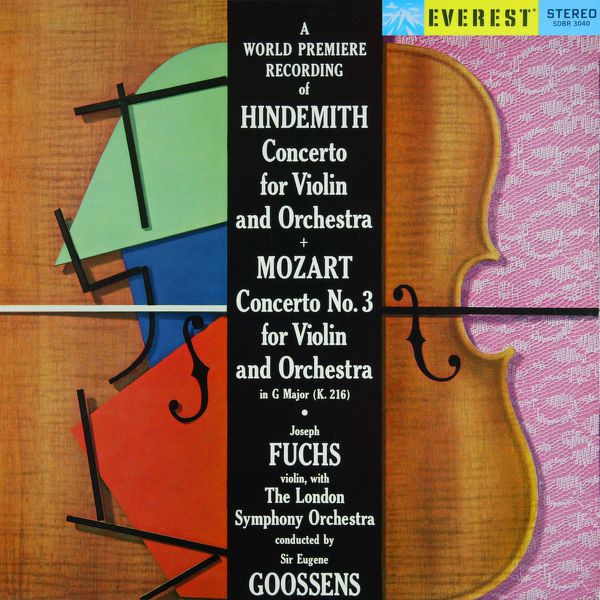 London Symphony Orchestra - Hindemith: Violin Concerto & Mozart: Violin Concerto No. 3 (Transferred from the Original Everest Records Master Tapes)