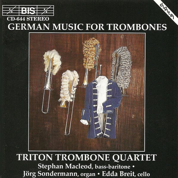 Stephan MacLeod - TRITON TROMBONE QUARTET: German Trombone Music