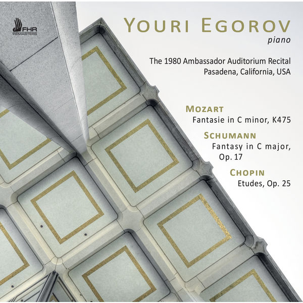 Youri Egorov - The 1980 Ambassador Auditorium Recital