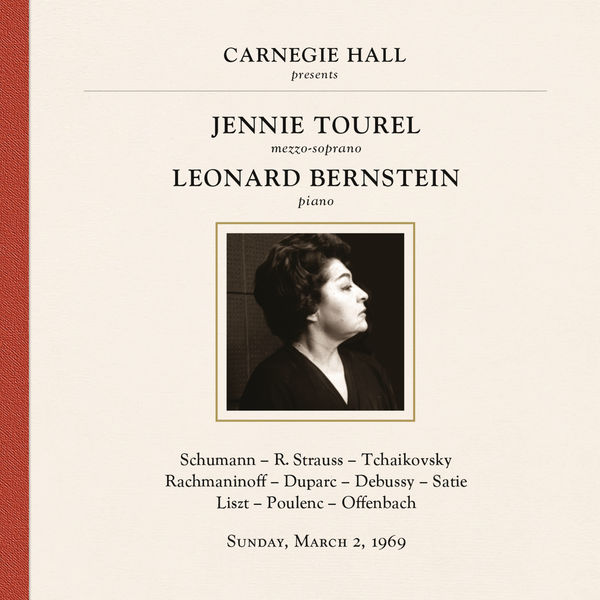 Jennie Tourel - Jennie Tourel & Leonard Bernstein