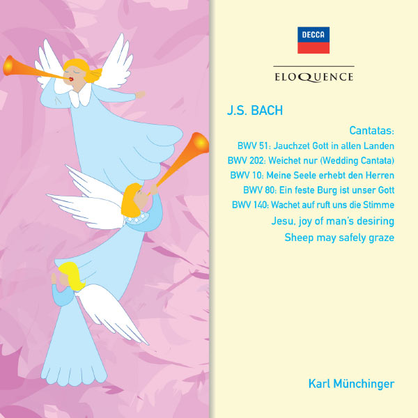 Karl Münchinger - BACH: Cantatas BWV 10, 51, 80, 140, 202