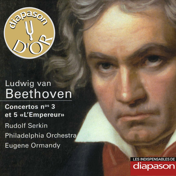 "Rudolf Serkin - Beethoven : Concertos Nos. 3 & 5 ""L'Empereur""(Diapason n°560)"