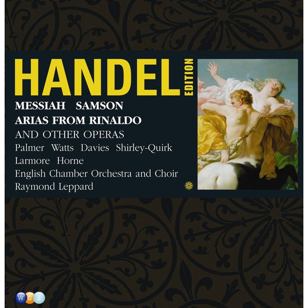 Various Interprets - Handel Edition Volume 4 - Samson, Messiah & Arias from Rinaldo, Serse etc