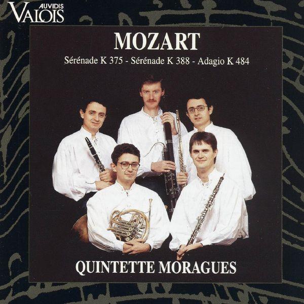 Quintette Moraguès - Mozart: Serenades Nos. 11 & 12 & Adagio K. 484 (Arr. for Wind Quintet)