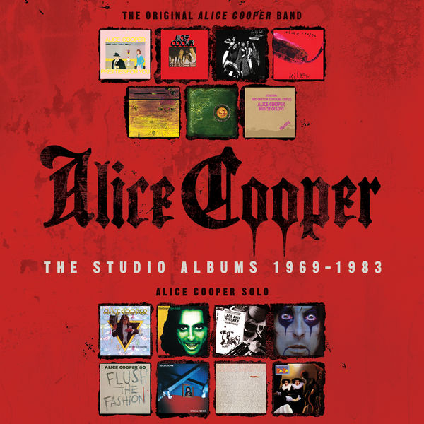 Alice Cooper - The Studio Albums 1969-1983 (15CD)